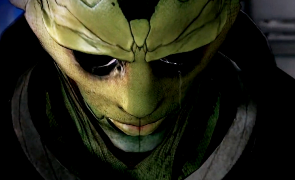Thane Krios cries